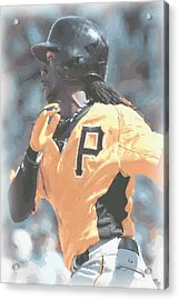 Pittsburgh Pirates Andrew Mccutchen Acrylic Print