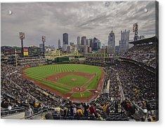 Pittsburgh Pirates Pnc Park Bucs Acrylic Print by David Haskett