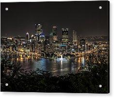 Pittsburgh Skyline Acrylic Print