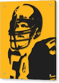Pittsburgh Steelers Jack Lambert Acrylic Print by Joe Hamilton