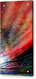 Pittura Digital Ghibill25e Acrylic Print by Sheila Mcdonald
