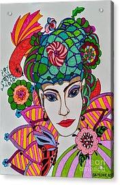 Pixie Girl Acrylic Print