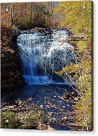 Pixley Falls State Park Acrylic Print by Diane E Berry