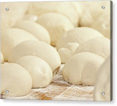 Pizza Dough Rising Acrylic Print