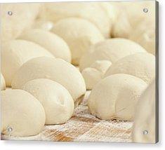 Pizza Dough Rising Acrylic Print
