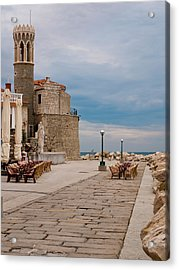 Place By The Sea Acrylic Print by Rae Tucker