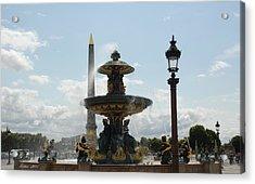 Place De La Concorde By Taikan Acrylic Print