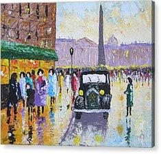 Place De La Concorde Paris Acrylic Print