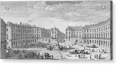 Place Des Victoires Acrylic Print by Jacques Rigaud