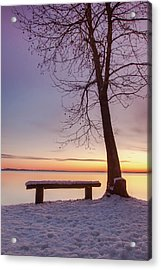 Acrylic Print featuring the photograph Place For Two by Davor Zerjav