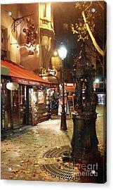 Place St Michel To Rue Saint-andre Des Arts Acrylic Print