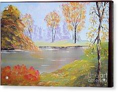 Placid Autumn Acrylic Print
