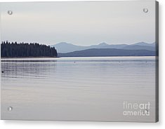 Placid Mountain Lake Acrylic Print
