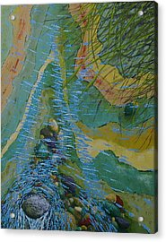 Placid Pile-up Acrylic Print by Ron Smothers