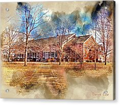 Plainfield Friends Meeting - A Quaker Church Acrylic Print