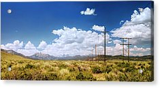Plains Of The Sierras Acrylic Print