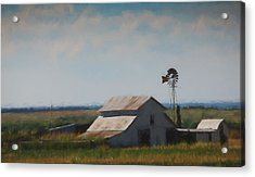 Plains Painted Barn Acrylic Print