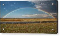 Plainview Rainbow Acrylic Print