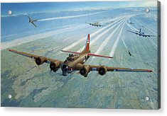 Acrylic Print featuring the photograph Plane by Test