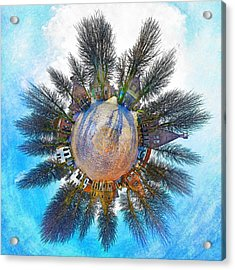 Planet Bourtange Acrylic Print