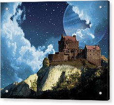 Planet Castle Acrylic Print