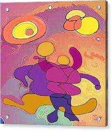 Planet Dancers Acrylic Print