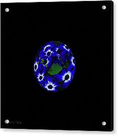 Planet Earth Acrylic Print