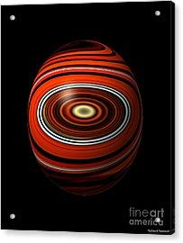 Planet Eye Acrylic Print by Thibault Toussaint