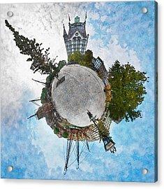 Planet Gelderseplein Rotterdam Acrylic Print