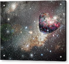 Planet Love Acrylic Print