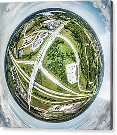 Acrylic Print featuring the photograph Planet Mukwonago by Randy Scherkenbach
