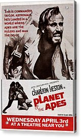 Planet Of The Apes, Top Charlton Acrylic Print by Everett