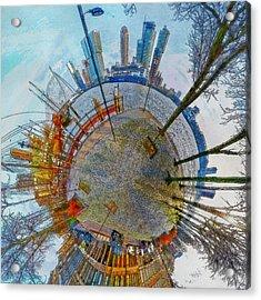 Planet Rotterdam Acrylic Print