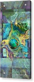 Planetary Collision 2 Acrylic Print