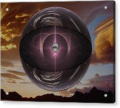 Planetoid Acrylic Print by Mario Carini