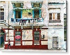 Plano De La Habana Acrylic Print