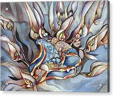 Plant Life Below Acrylic Print by Liduine Bekman