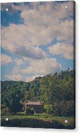 Acrylic Print featuring the photograph Plantation House by Shane Holsclaw