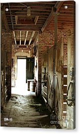 Plantation Stable Acrylic Print