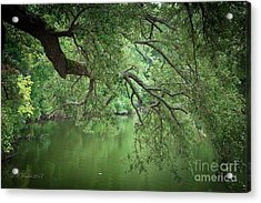 Planted By The Water Acrylic Print