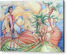 Planting Time Acrylic Print by Mark Johnson