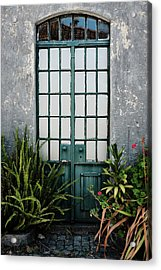 Acrylic Print featuring the photograph Plants In The Doorway by Marco Oliveira