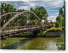 Platte River Bridge Acrylic Print