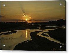 Platte Sunrise 3890 Acrylic Print