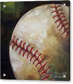 Play Ball Acrylic Print by Kristine Kainer