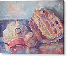 Play Ball Acrylic Print by Mark Hartung