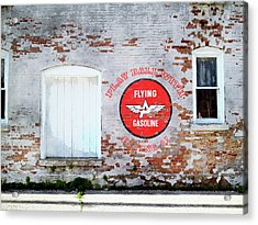 Play Ball With Flying A Acrylic Print by Sandy MacGowan