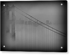 Play Misty For Me Acrylic Print by Edward Kreis