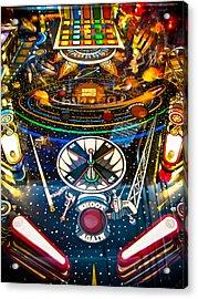 Play Pinball Acrylic Print