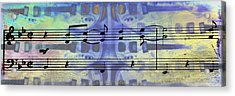 Play That Rock And Roll Acrylic Print by Bill Cannon